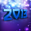 2013 Happy New Year background. EPS 10 — Stockvektor