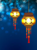 Diwali festivali türkiye için tebrik kartı. eps 10. — Stok Vektör
