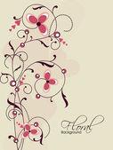 Arka plan çiçek. eps 10. — Stok Vektör