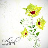 Abstact floral. eps 10. — Vector de stock