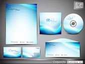 Professional corporate identity kit or business kit for your bus — Vecteur