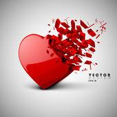 Valentine Heart. EPS 10. — Stock Vector