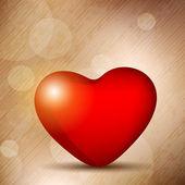 Serce valentine. Eps 10. — Wektor stockowy