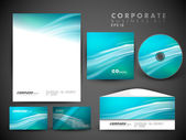 Professional corporate identity kit or business kit for your bus — Stockvektor