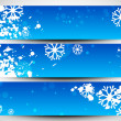 Happy holidays website headers or banners. EPS 10. - Stock vektor