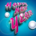 Happy New Year celebration background. EPS 10. — Stock Vector #15184279