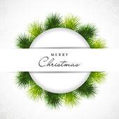 美丽快乐圣诞贺卡。10 eps. — 图库矢量图片