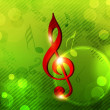 Musical notes. can be use as banner, tag, icon, sticker, flyer o — Stockvektor