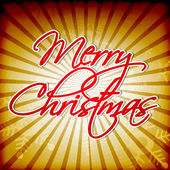 Frohe weihnachten, grußkarte. eps 10. — Stockvektor