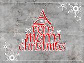 God jul, vintage kort. eps 10. — Stockvektor