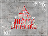 Veselé vánoce, vintage kartu. eps 10. — Stock vektor