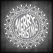 Счастливого Рождества, старинные карты. EPS 10. — Cтоковый вектор