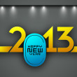 2013 Happy New Year. EPS 10. - Stockvektor