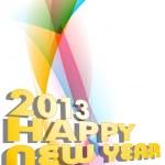 Happy New Year. EPS 10. — Stock Vector