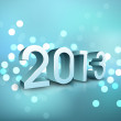 2013 Happy New Year. EPS 10. — Image vectorielle