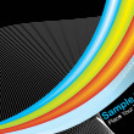 Abstract fancy wave vector, design35 — Stock Vector #1699727