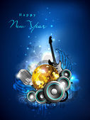 2013 New Year Party Background. EPS 10. — Stock Vector