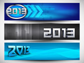 2013 Website header or banner. EPS 10. — Stock Vector