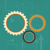 Website design draft. EPS 10. — Stock Vector
