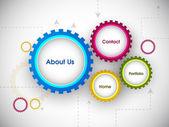 Website ontwerp ontwerp. eps 10. — Stockvector