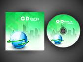 Projekt okładki cd dla twojej firmy. eps 10. — Wektor stockowy