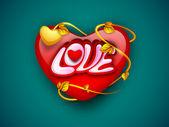 Fond de coeur de l'amour. Eps 10. — Vecteur