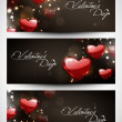 Valentines Day background. EPS 10. — Imagen vectorial