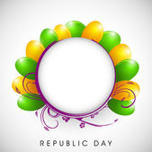 Republic Day background. EPS 10. — Stock Vector
