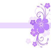 Hermoso fondo floral. eps 10. — Vector de stock