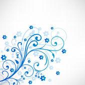 Beau fond floral. eps 10. — Vecteur