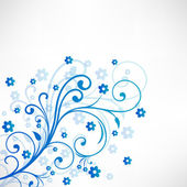 Krásné květinové pozadí. eps 10. — Stock vektor