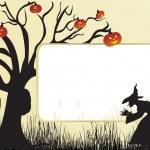 Illustration der Halloween-hintergrund — Stockvektor  #1913845
