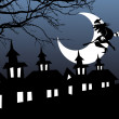 Illustration of halloween background — Wektor stockowy  #1924112