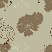 Abstract floral background. EPS 10. — Cтоковый вектор
