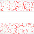Happy Valentines Day background, greeting card or gift card, lov — Stock Vector