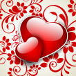 Royalty-Free Stock Vectorielle: Valentines Day background, greeting card or gift card.