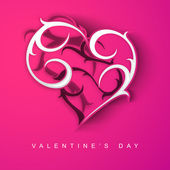 Święty tło valentine's day, powitanie karta lub karty prezent dowcip — Wektor stockowy