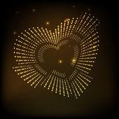Happy Valentijnsdag achtergrond, greeting card of Geschenkenkaart, lov — Stockvector