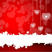 Happy Valentine's Day background, love concept. EPS 10. — Vector de stock