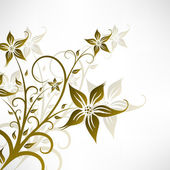 Abstract Floral Background. — Vecteur