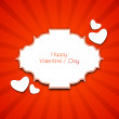 Happy Valentines Day Background, love concept. - Image vectorielle