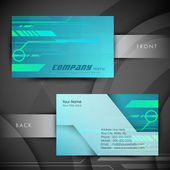 Abstract professional and designer business card template or visiting card set. EPS 10. — Stock Vector
