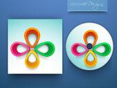 あなたのビジネス デザインの cd カバー. — ストックベクタ