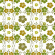 Abstract seamless floral pattern. — Grafika wektorowa