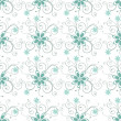 Royalty-Free Stock Vektorgrafik: Abstract seamless floral pattern.