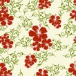Abstract seamless floral pattern. — Stock vektor
