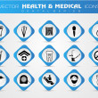 Medical icons set. EPS 10. — Stock Vector #21662177