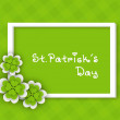 Happy St. Patrick's Day banner, flyer or poster. EPS 10. — Stock Vector