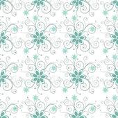 Abstrata sem costura padrão floral. — Vetorial Stock
