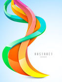 Abstract colorful waves background. — Stock Vector